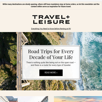 Bucket-List Road Trips + Simple Summer Getaways
