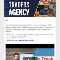 May 27   E-mini Russell 2000 Trade Idea on Track