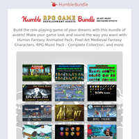 Make the video game of your dreams with this bundle of assets!