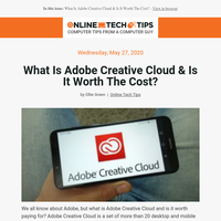 Posts from Online Tech Tips for 05/28/2020