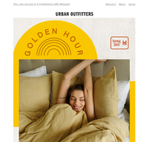 New bedding you're gonna love (hint: 💛🌼🍋)