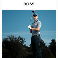 Just in: Patrick Cantlay x BOSS