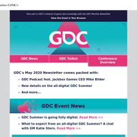 May news | GDC podcast feat. Jackbox Games CEO Mike Bilder