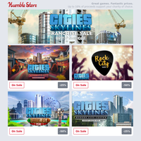 Expand your Cities: Skylines Bundle with our Franchise Sale + EA Publisher Deals and more!