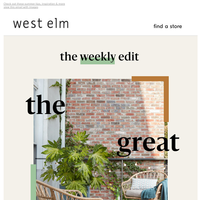 The Weekly Edit: step into summer! ☀️