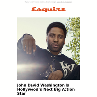 Our Summer Cover: Tenet's Leading Man, John David Washington