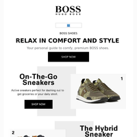 BOSS Shoe Sale: Relax in Comfort & Style