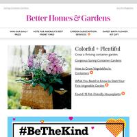 Creative Container Garden Ideas, Including Home-Grown Veggies