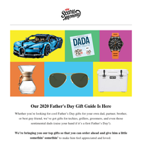 Jump Start Father's Day Shopping With Our Gift Guide