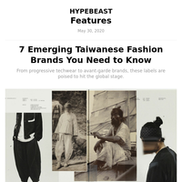 7 Emerging Taiwanese Fashion Brands You Need to Know
