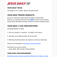 Your Daily Devotion is The Risen Christ