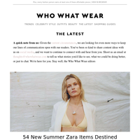 54 new Zara items to buy before they sell out
