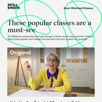 Explore May's Most Popular Classes