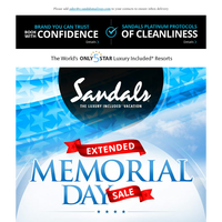 Our Memorial Day Sale Has Been Extended with Special Gifts
