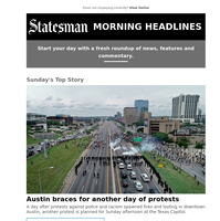 Austin braces for another day of protests