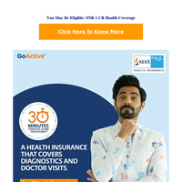 Fwd: Anxious About Covid-19? Check Your Eligibility | INR 1 CR Health Coverage | M40661