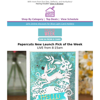 Papercuts Die Collection from Creative Expressions