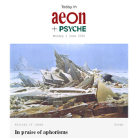 In praise of aphorisms; the ancient Chinese philosophy of communal mental health; and how scars shape the mind