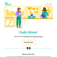 Daily Skimm: And I'll rise up, high like the waves
