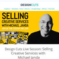 Design Cuts Live Session: Selling Creative Services with Michael Janda