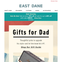 Father's Day is around the corner