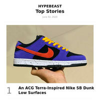 Highlights for You: An ACG Terra-Inspired Nike SB Dunk Low Surfaces and more