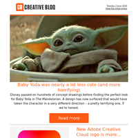 Baby Yoda was nearly a lot less cute