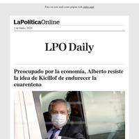 Preocupado por la economía, Alberto resiste la idea de Kicillof de endurecer la cuarentena