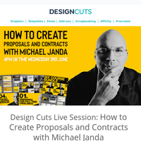 Design Cuts Live Session: How to Create Proposals and Contracts with Michael Janda