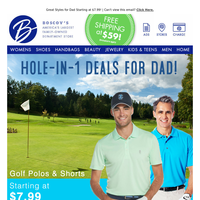 Father's Day is coming soon - shop now!