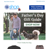 Looking for Father's Day gift ideas?