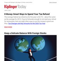 Money-Smart Ways to Spend Your Tax Refund