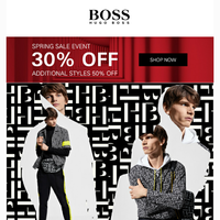 Stand Out In BOSS Monogram