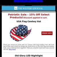 Shop Our Patriotic Sale!