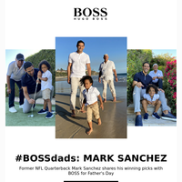 Father's Day Featuring Mark Sanchez