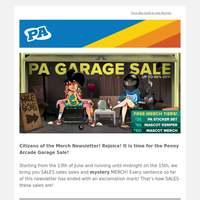 PA Garage Sale: Up To 60% Off
