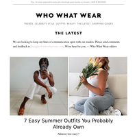7 easy summer outfits you probably already own
