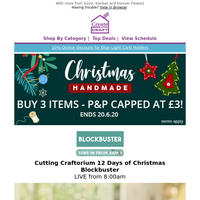 Celebrate this Christmas with tradional crafts from Cutting Craftorium