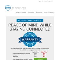 💡Great idea-Dell Refurbished Extended Warranty