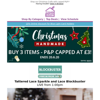 Give Christmas the personal touch with these Blockbuster offers