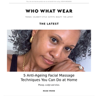 5 anti-ageing facial massage techniques you can do at home