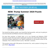 NEW: Trump Summer 2020 Puzzle