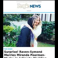 Surprise! Raven-Symoné marries Miranda Pearman-Maday in intimate wedding