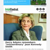 Gerry Adams remembers \