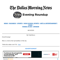 Dallas County calls for masks in businesses, life as a black Dallas officer: Your Friday evening roundup