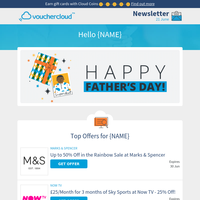 Father's Day Savings - M&S • Groupon • Apple + more!