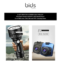 Happy Father's Day! Win Dad's perfect gift on Bids.com!