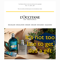 Celebrate Father's Day With L'Occitane 💛