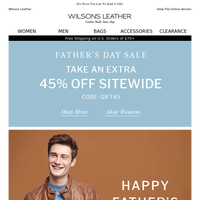 Happy Father's Day From Wilsons Leather