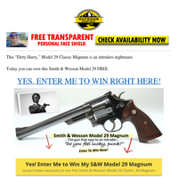 Dirty Harry Gun giveaway (Smith & Wesson Model 29)